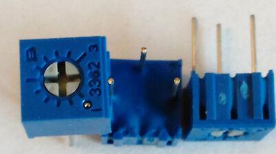 Bourns 3362p Cermet Trimmer Potentiometer Trimpot 1kohms 1k Ohm 20pcslot