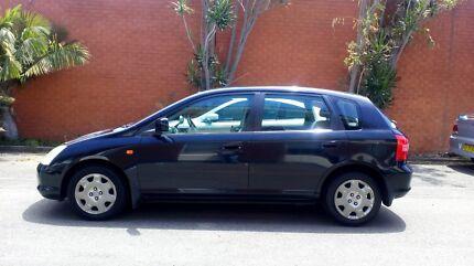 2001 Black  Honda Civic-VI-Hatchback Automatic -$2,300 Merrylands West Parramatta Area Preview