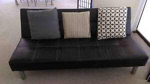 Black 3-Seater Futon FOR SALE (Excellent condition) Ryde Ryde Area Preview