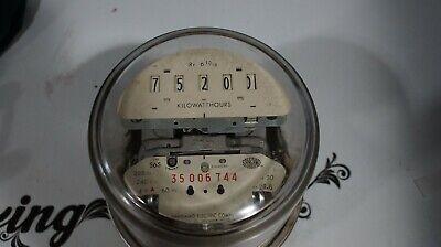 Sangamo Watthour Meter Form 15s Type S6s 4w Delta 3 Phase List C