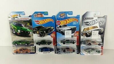 Hot Wheels Ford Performance Mustang '71 Mach 1 '67 Coupe or 65 Fastback or Zamac