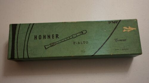 Vintage Hohner F-Alto Concert Harmonica Made In Germany