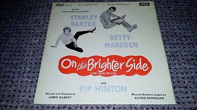 "Stanley Baxter / Betty Marsden - On The Brighter Side - 12"" vinyl LP album"