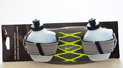 Nike Doppelt WasserFlasche Gürtel, Nike Storm Waistepack Training 2 Water Bottle (Nike Gürtel Wasser)