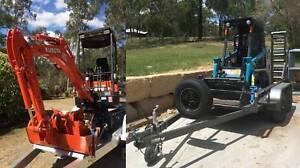 Mini Excavator / Mini Bobcat Dry Hire