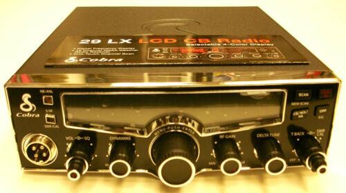 Cobra 29 LX 40-Channel Mobile CB Radio w/Mods Professionally Tuned (