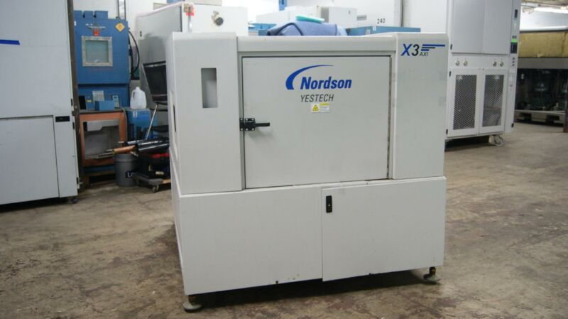 Nordson YESTECH YTX-X3 X509071047 3-D Automated X-Ray Inspection System