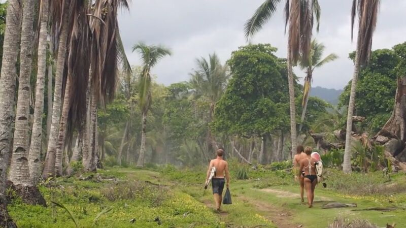 Surfen in Costa Rica: der Weg zum Spot.