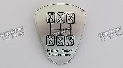 Genuine Fuller transmission shift knob medallion S