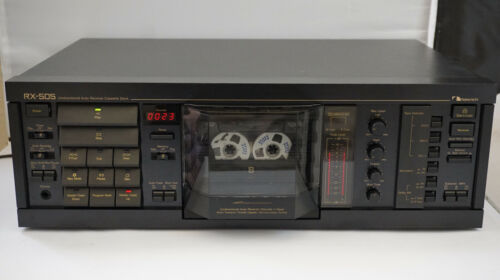 Nakamichi RX-505 UDAR autoreverse cassette deck Dolby B,C,