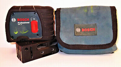 BOSCH # GPL 3 Professional 3-Point Self-Leveling Alignment Laser Nice Working!