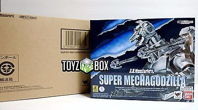 "In STOCK S.H. Monster Arts ""Super Mecha Godzilla"" Edition Bandai Action Figure"