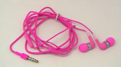Headset Kopfhörer in Ear Pink + Mikro für iPod iPhone 2G 3G 3GS 4 4S MP3 MP4 Ipod Iphone 3g Mp3