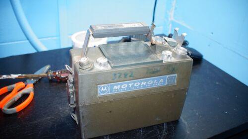 MOTOROLA PT200 OHIO EDISON POWER COMPANY PORTABLE LUNCHBOX RADIO LOWBAND LIST C