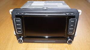 VW Radio Navigation RNS 510 - LED + HDD + V14 Karten - 1T0035680P -