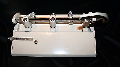 Vtg Foothill 310 3-hole Punch Industrial Grade Euc Works Smoothly