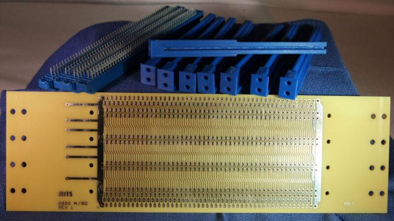 Altair replica 4 slot backplane motherboard S100 S-100 IMSAI 8080A Z80 Kit