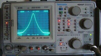 Tektronix 494ap 40 Ghz Progr. Spectrum Analyzer W Opts Extras Calibrated