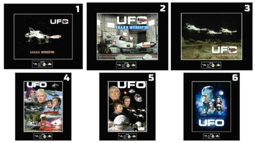 """(6)GERRY ANDERSON TV Series UFO 8""""x10"""" Photos - 11""""x14"""" Matted - CHOOSE ANY 1"""