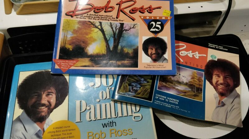 3 BOB ROSS THE JOY OF PAINTING BOOK VOLUME 12  25 MORE