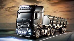 Tamiya LKW - Truck 1:14 Kit Bausatz Actros 6x4 Giga - Space 3 Achser 300056348