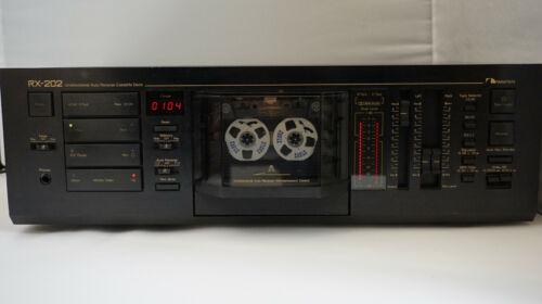 Nakamichi RX-202 UDAR  cassette deck Dolby B,C, 120 - 240 volt