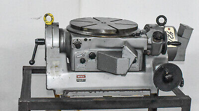 Imperial 15 34 Rotary Table Tilting Ctam 4218