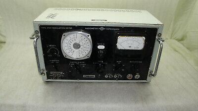 Vintage Type Afm1 Modulation Meter Radiometer Copenhagen