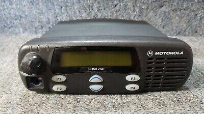 Motorola Cdm1250 Vhf 136-174 Mhz 45 W Radio Aam25kkd9aa2an Tested Buy 1-9 Units