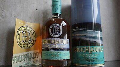 Bruichladdich 7 Years Waves Whisky Flasche 700 ml Islay Single Malt Scotch