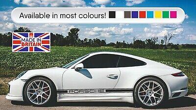 Classic triple stripes to fit all models Porsche in MATT BLACK