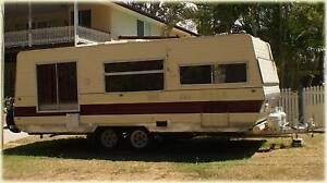 1985 Viscount 25 ft caravan. Something very different. Coochiemudlo Island Redland Area Preview