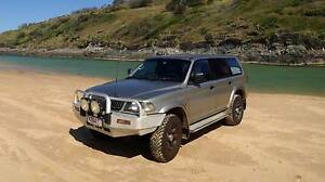 Dual fuel 2000 Mitsubishi Challenger 4x4 Perth Perth City Area Preview