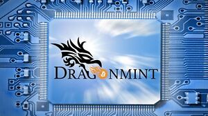 Dragon Mint T1 16TH/s + PSU - Bitcoin miner