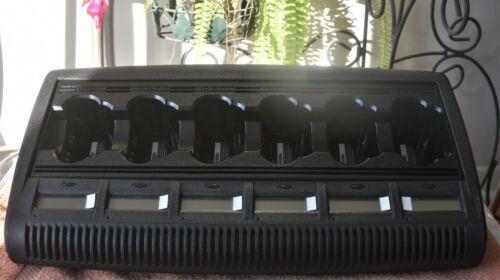 NEW Motorola WPLN4127AR Firmware V3.40 6-bay battery charger