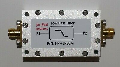 Rf Low Pass Filter Fc 50mhz Vhf 100w Cw Power