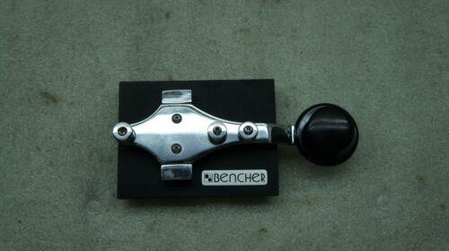 Bencher RJ-1 Black Base Straight Key