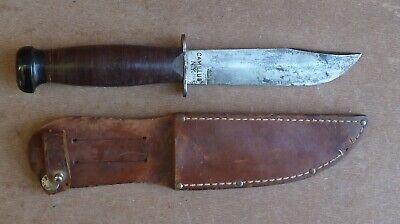 US WWII Camillus Bright Blade Mark 1 Navy Fighting Knife NR