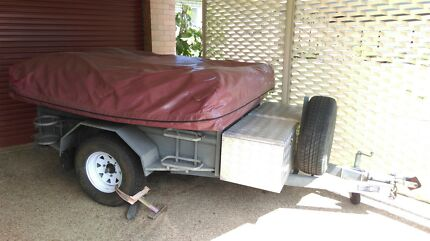 Camp Trailer for sale.