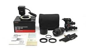 Nikon Macro Setup - 90mm Macro, Sigma Ring Flash, Manfrotto 410 & 454
