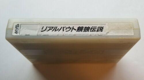 Real Bout Fatal Fury (Neo Geo MVS)