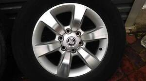 """Holden Colorado7  LTZ  18""""  rims and tyres x 2 Belair Mitcham Area Preview"""