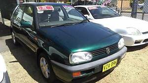 1995 Volkswagen Golf Hatchback Long Jetty Wyong Area Preview