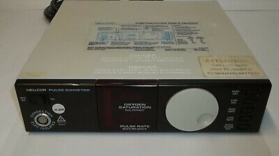 Nellcor N-200 Portable Pulse Saturation Oximeter Sao2 Patient Monitor System