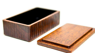 Hand Crafts Wooden Butter Case Urushi coating big 15*9*5.5cm capacity:200g 6044