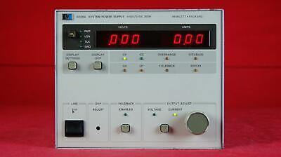 Hp-agilent-keysight 6038a Dc Power Supply 0-60v 10a Automranging To 200w Max.