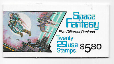 SCOTT #2745A   SPACE  FANTASY  20 X 29 CENT                    BOOKLET  MLH
