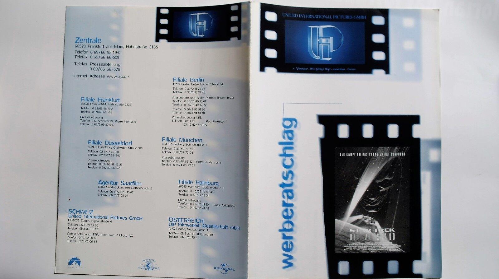 N14 Werberatschlag - STAR TREK Der Aufstand