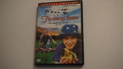 Fly Away Home (DVD, 2006, Special Edition) Jeff Daniels Anna Paquin 1996 Film VG ()