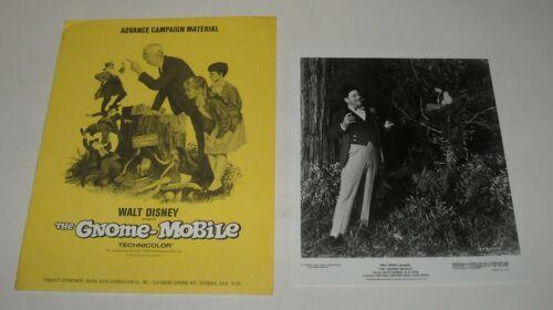1966 DISNEY The GNOME MOBILE PROMO MOVIE PRESS KIT MATTHEW GARBER KAREN DOTRICE